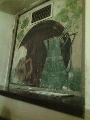 Festmény kocsmám falán
