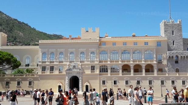 Monaco, hercegi palota