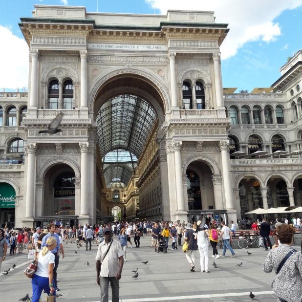 Milánó, passzázs